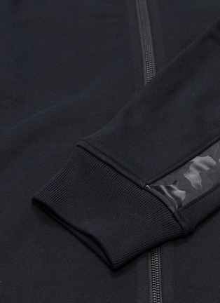 - REIGNING CHAMP - Camouflage stripe sleeve track jacket