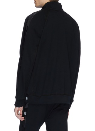 Back View - Click To Enlarge - REIGNING CHAMP - Camouflage stripe sleeve track jacket