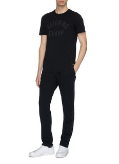 Reigning Champ Camouflage stripe outseam track pants