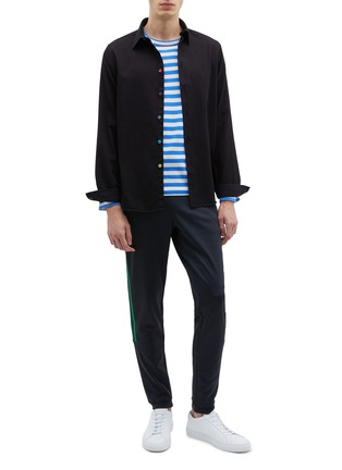 Figure View - Click To Enlarge - PS Paul Smith - Stripe outseam sweatpants