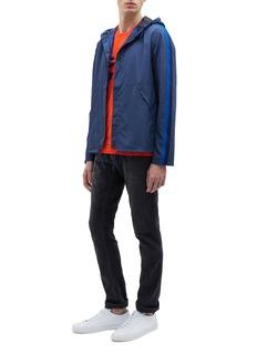 PS Paul Smith Stripe sleeve hooded windbreaker jacket