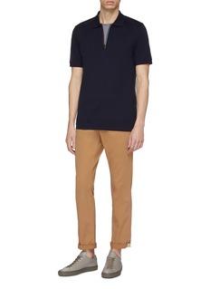 PS Paul Smith Stripe half-zip polo shirt
