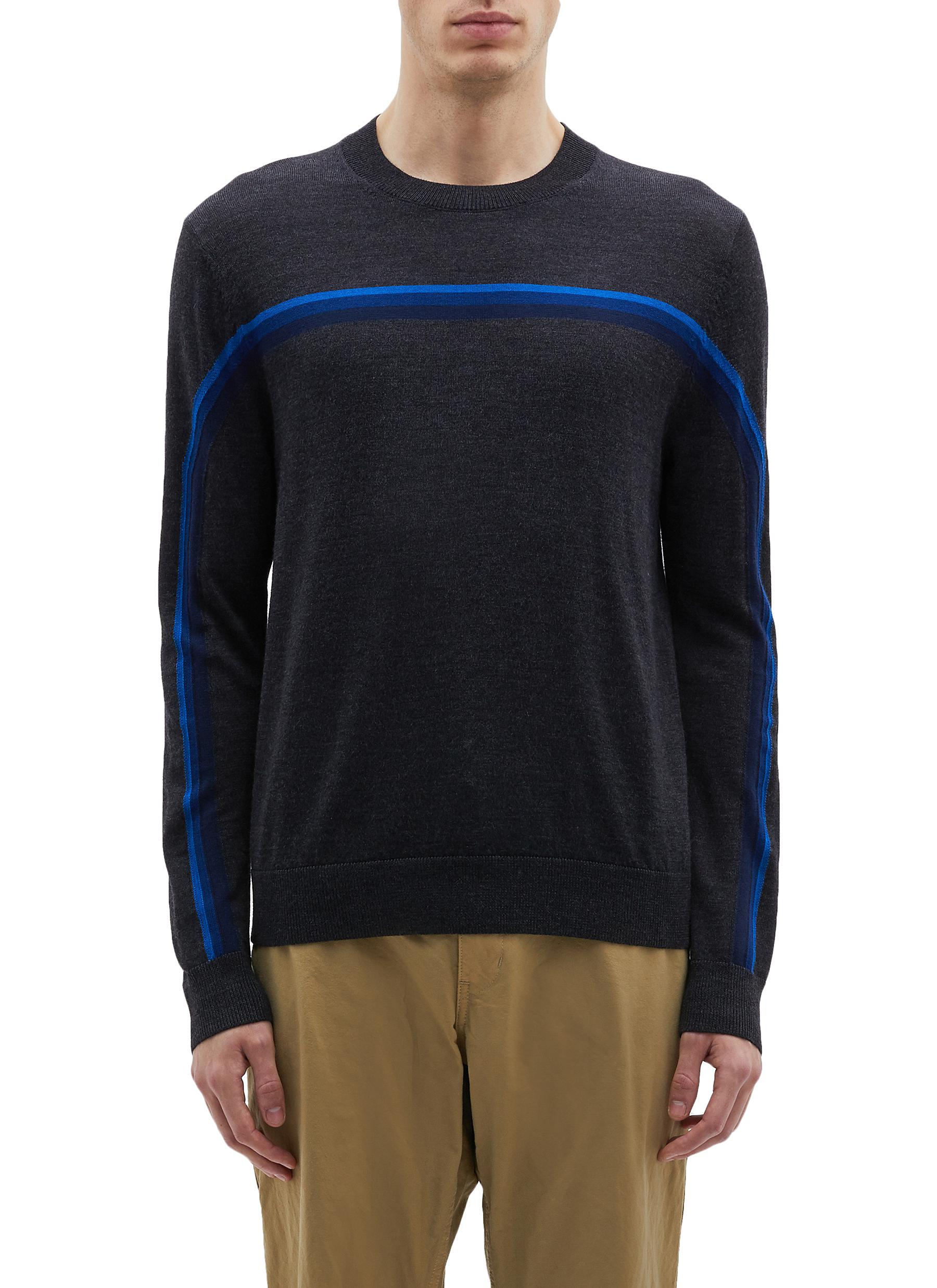 028000144e3a3f Ps By Paul Smith Stripe Merino Wool Sweater | ModeSens