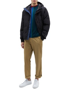 PS Paul Smith Stripe colourblock Merino wool sweater