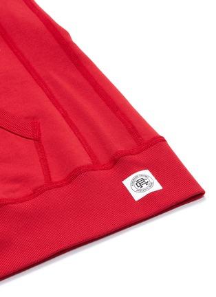 - REIGNING CHAMP - Zip raglan hoodie