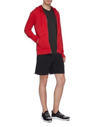Figure View - Click To Enlarge - REIGNING CHAMP - Zip raglan hoodie
