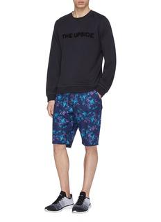 DYNE 'Pisano' floral print track shorts