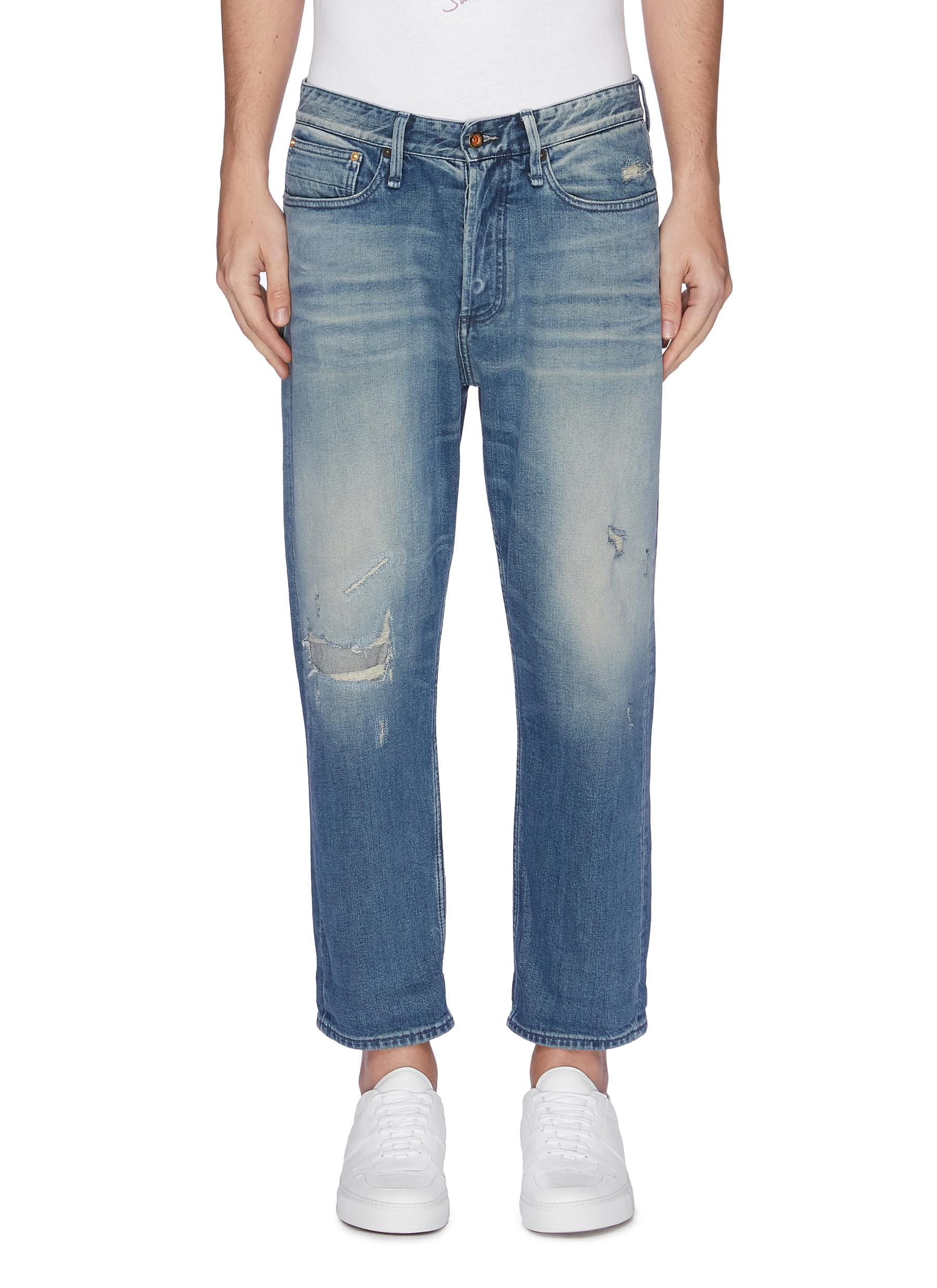 8e8365321f5 DENHAM | Ripped carrot jeans | Men | Lane Crawford