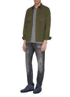 DENHAM 'Razor' ripped slim fit jeans