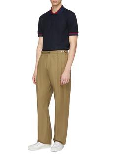 JOSEPH Contrast border polo shirt