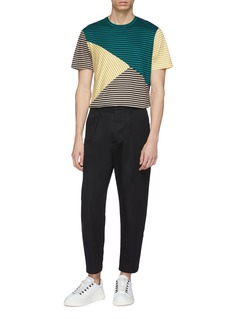 JOSEPH Colourblock stripe T-shirt