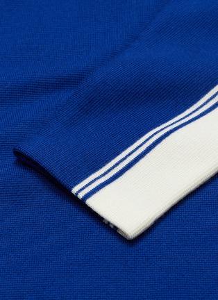 - JOSEPH - Stripe sleeve wool sweater