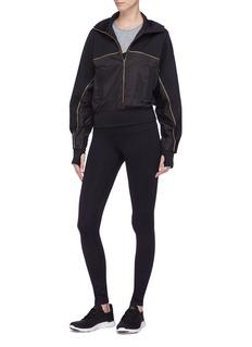 42|54 'Golden Girl' batwing panelled track jacket