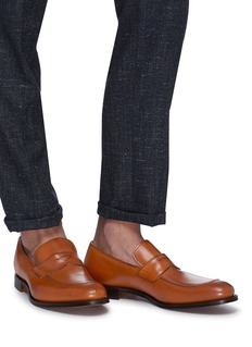 Church's Prague' leather penny loafers