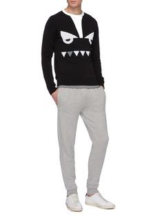 Fendi Sport 'Bag Bugs' intarsia sweater