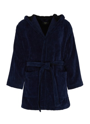 Main View - Click To Enlarge - Fendi Sport - 'Bag Bugs' panel bathrobe