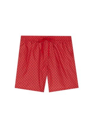 Main View - Click To Enlarge - Fendi Sport - 'Bag Bugs' print swim shorts