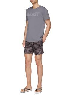 Fendi Sport 'Bag Bugs' print swim shorts