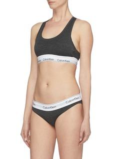 Calvin Klein Underwear 'Modern' logo band bralette