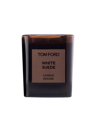Main View - Click To Enlarge - TOM FORD BEAUTY - Private Blend White Suede Candle 250g