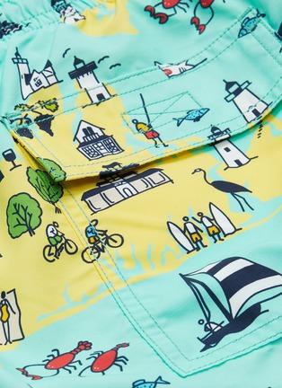 - Vilebrequin - 'Okoa' graphic print swim shorts