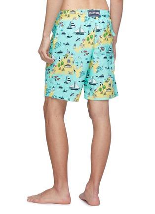 Back View - Click To Enlarge - Vilebrequin - 'Okoa' graphic print swim shorts