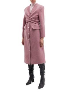 MATÉRIEL Cross front coat