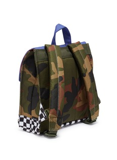 The Herschel Supply Co. Brand 'Survey' colourblock camouflage print canvas 5.5L kids backpack