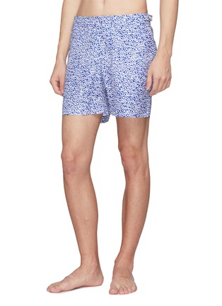Figure View - Click To Enlarge - Orlebar Brown - 'Bulldog Mazanine' floral print swim shorts