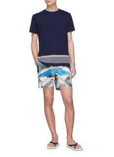 Orlebar Brown 'Sammy' stripe hem T-shirt