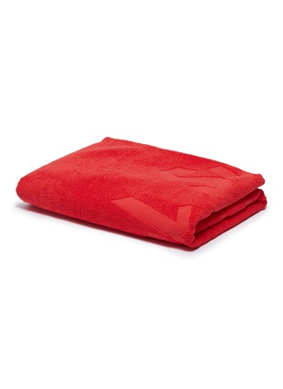 Main View - Click To Enlarge - ORLEBAR BROWN - 'Feel Summer' slogan cotton beach towel