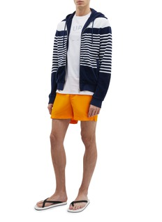 Orlebar Brown 'Mathers' stripe terry zip hoodie