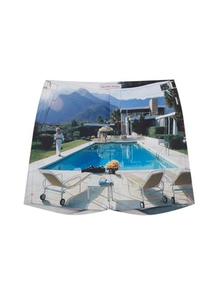 Main View - Click To Enlarge - Orlebar Brown - 'Bulldog Kaufmann Cocktail' pool print swim shorts
