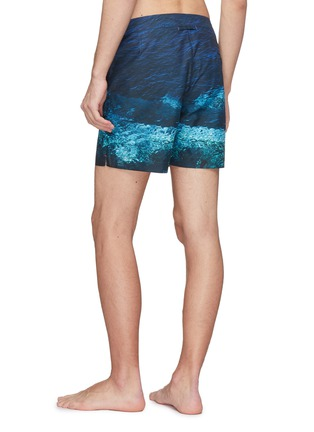 Back View - Click To Enlarge - ORLEBAR BROWN - 'Bulldog Deep Sea' print swim shorts