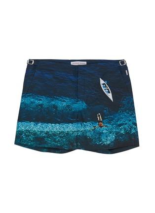 Main View - Click To Enlarge - ORLEBAR BROWN - 'Bulldog Deep Sea' print swim shorts