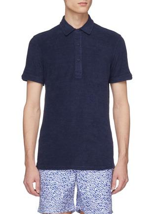 Main View - Click To Enlarge - ORLEBAR BROWN - 'Sebastian' terry polo shirt