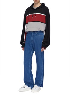 Y/Project Back panel layered jeans