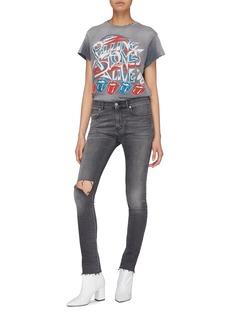 MadeWorn 'The Rolling Stones Live' glitter print T-shirt
