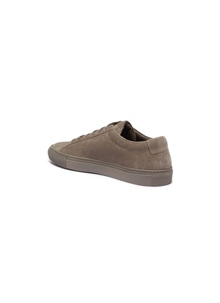 Detail View - Click To Enlarge - Common Projects - 'Original Achilles' suede sneakers
