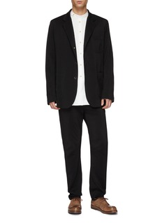 Uma Wang  Stripe seersucker soft blazer