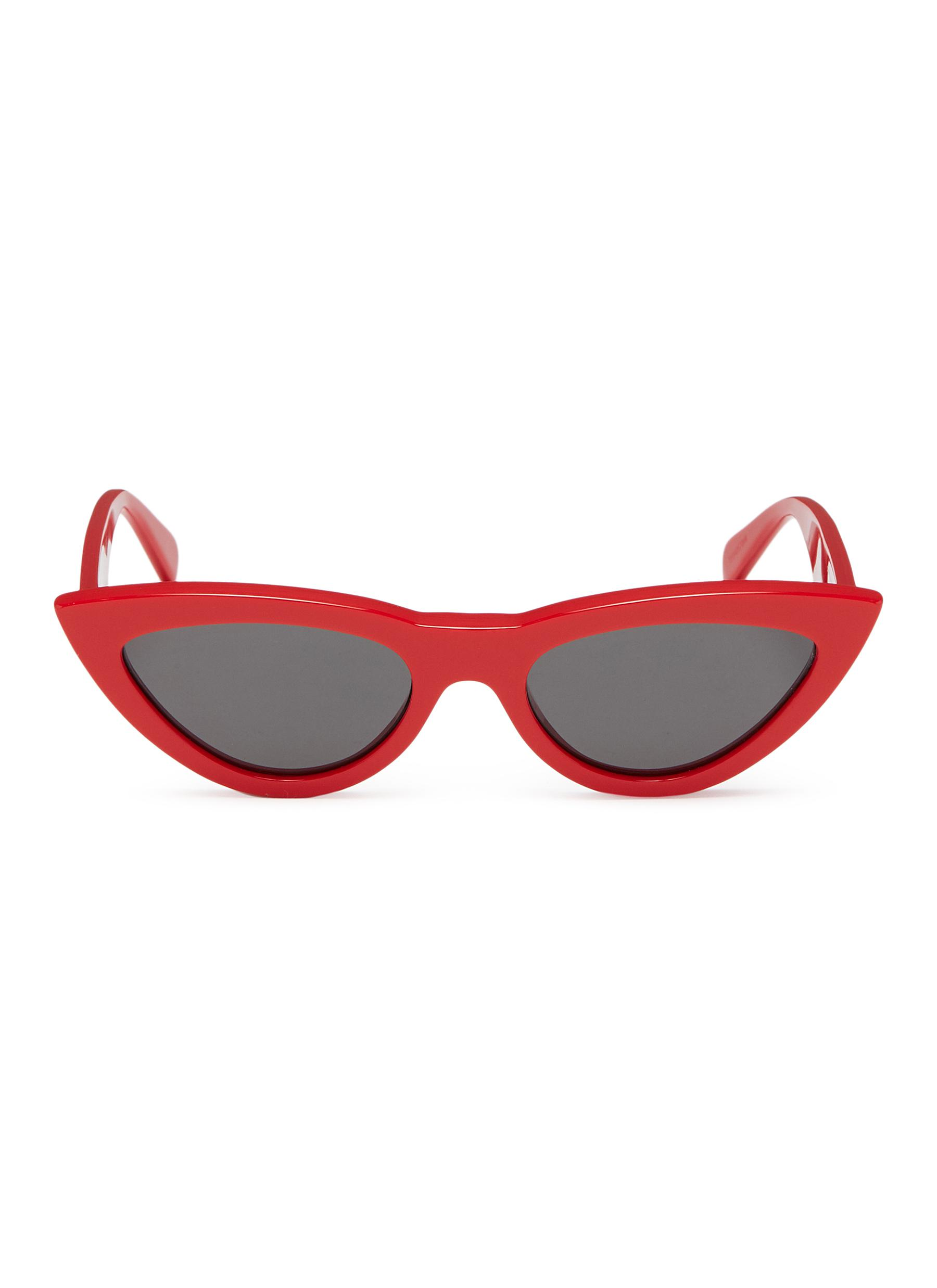 d13c6bf797e Main View - Click To Enlarge - Céline - Acetate narrow cat eye sunglasses