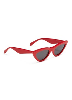Céline Acetate narrow cat eye sunglasses