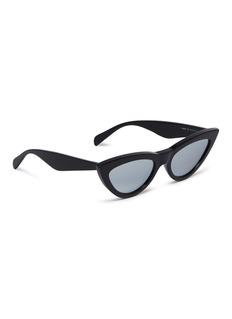 Céline Mirror acetate cat eye sunglasses