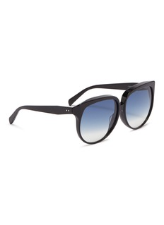 Céline Acetate oversized round sunglasses