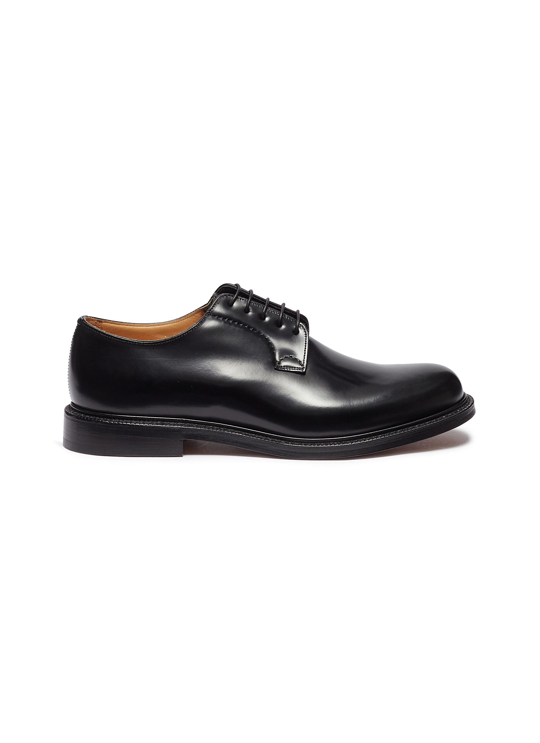 Church's 'shannon' Leather Derbies In Black