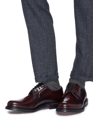 Figure View - Click To Enlarge - CHURCH'S - 'Shannon' leather Derbies
