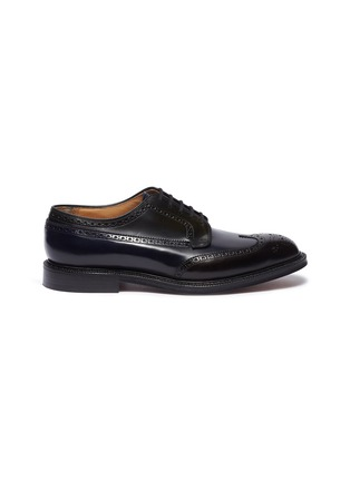Main View - Click To Enlarge - CHURCH'S - 'Grafton' ombré leather brogue Derbies