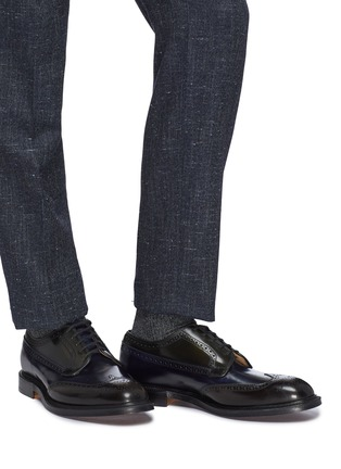 Figure View - Click To Enlarge - CHURCH'S - 'Grafton' ombré leather brogue Derbies