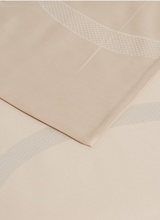 Detail View - Click To Enlarge - FRETTE - Ribbons queen size duvet – Powder pink