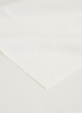 Detail View - Click To Enlarge - FRETTE - Net king size duvet set – Milk